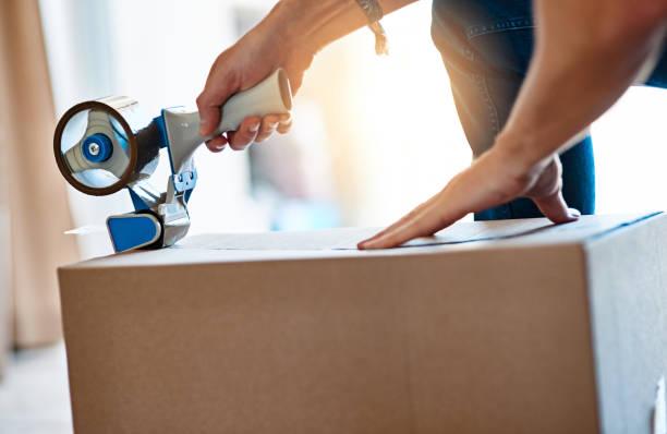 préparation pour un déménagement
